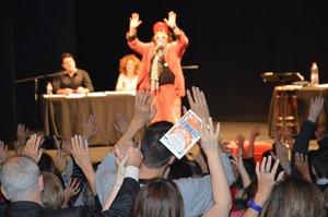 Imagen de un espectáculode la Semana del Humor Latinoamericano.