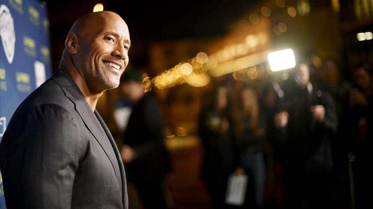 Dwayne Johnson, en Hollywood, el pasado 5 de abril
