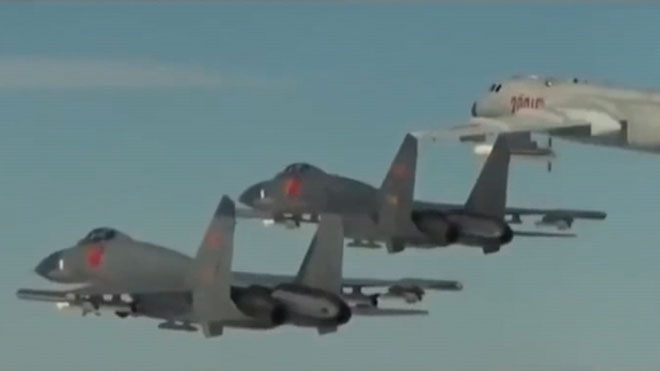 El Ejército chino simula en un vídeo un ataque a una base similar a una estadounidense.