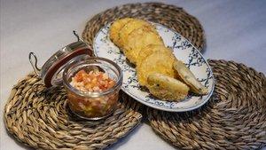 Emparedados de jamón ibérico, una receta de Marc Mallasén (SEVENTY).