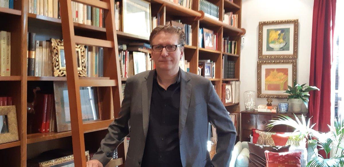 Enric Calpena, el autor de la novela sobre Joan Gamper.