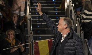 Esteban González Pons, en un acto del PP el pasado 12 de enero en València.