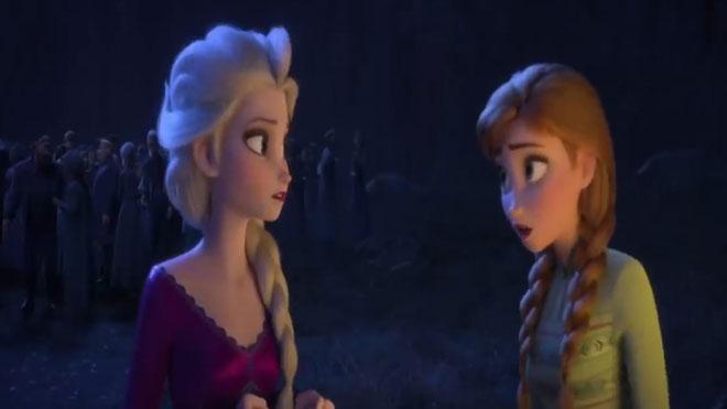Estrenos de la semana. Tráiler de 'Frozen 2'.