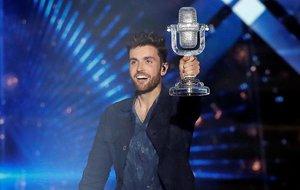 Duncan Laurence, el ganador de la gala de Eurovisión 2019, que se celebró en Israel.