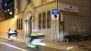 La fachada de la escuela Vedruna de Gràcia, en una imagen de enero del pasado año.