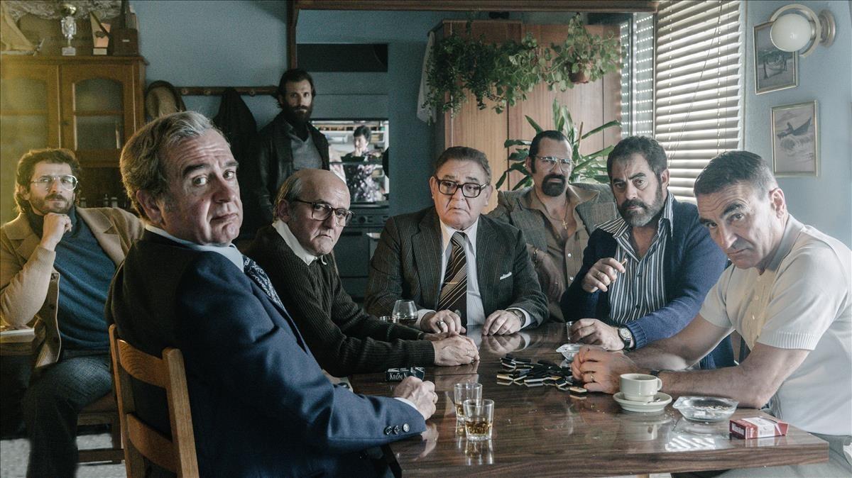 Una imagen de la serie Fariña.