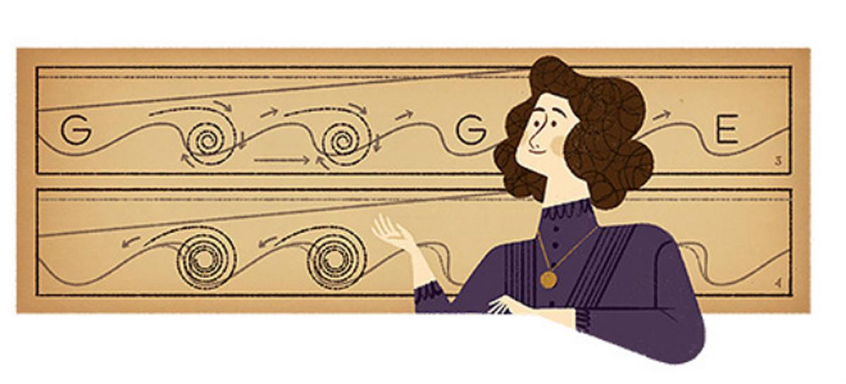 Google recuerda a la científica Hertha Marks Ayrton en el 162º aniversario de su nacimiento.