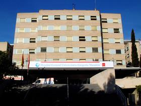 Exterior del Hospital General Universitario Gregorio Marañón.