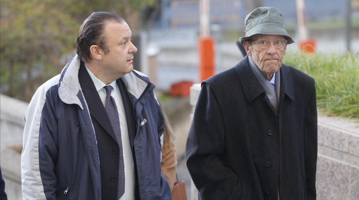 Carlos y Simón Viñals, los médicos acusados de negligencia profesional en la atención a dos de las fallecidas.
