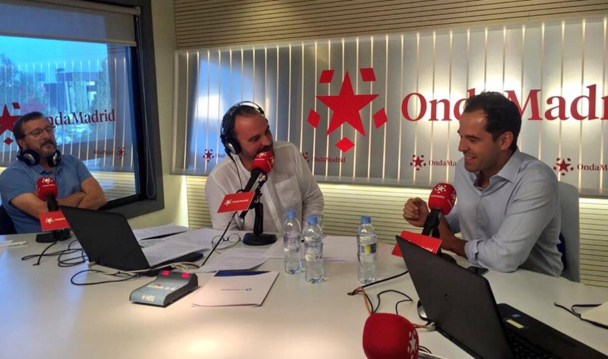 Ignacio Aguado en Onda Madrid.