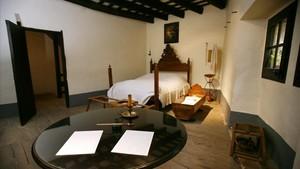 Interior de la Casa Museu Verdaguer, en Folgueroles.