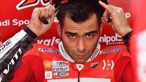 El italiano Danilo Petrucci puede acabar convirtiéndose en el piloto estrella de Ducati.