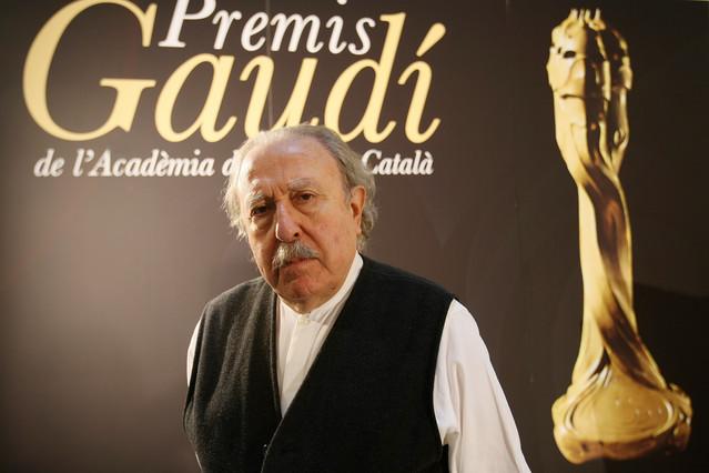 Jaime Camino recibió el premio Gaudí honorífico de la Acadèmia de Cinema Català en el 2009.