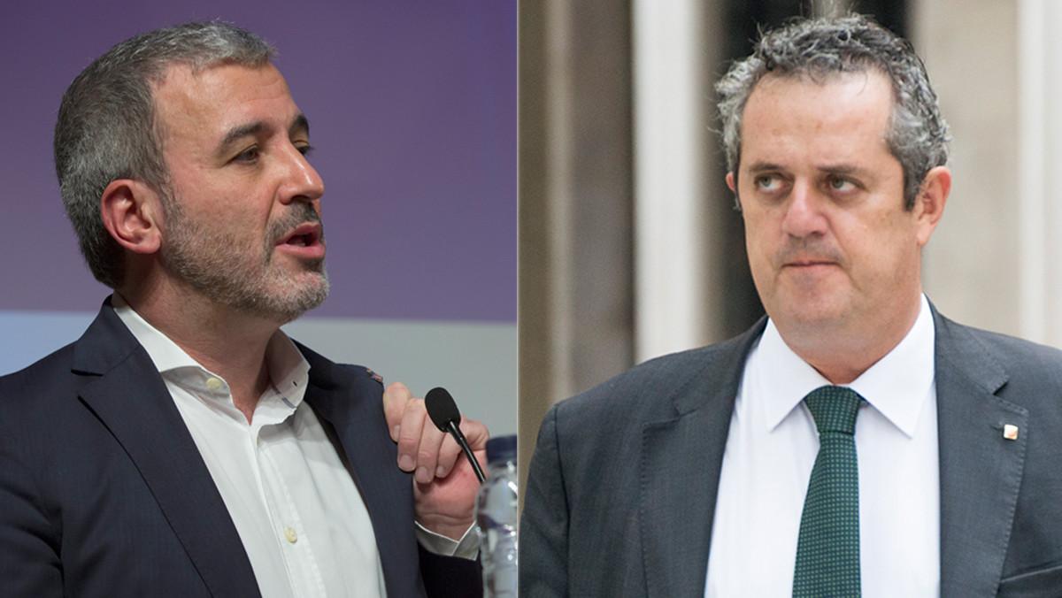Jaume Collboni y Joaquim Forn.