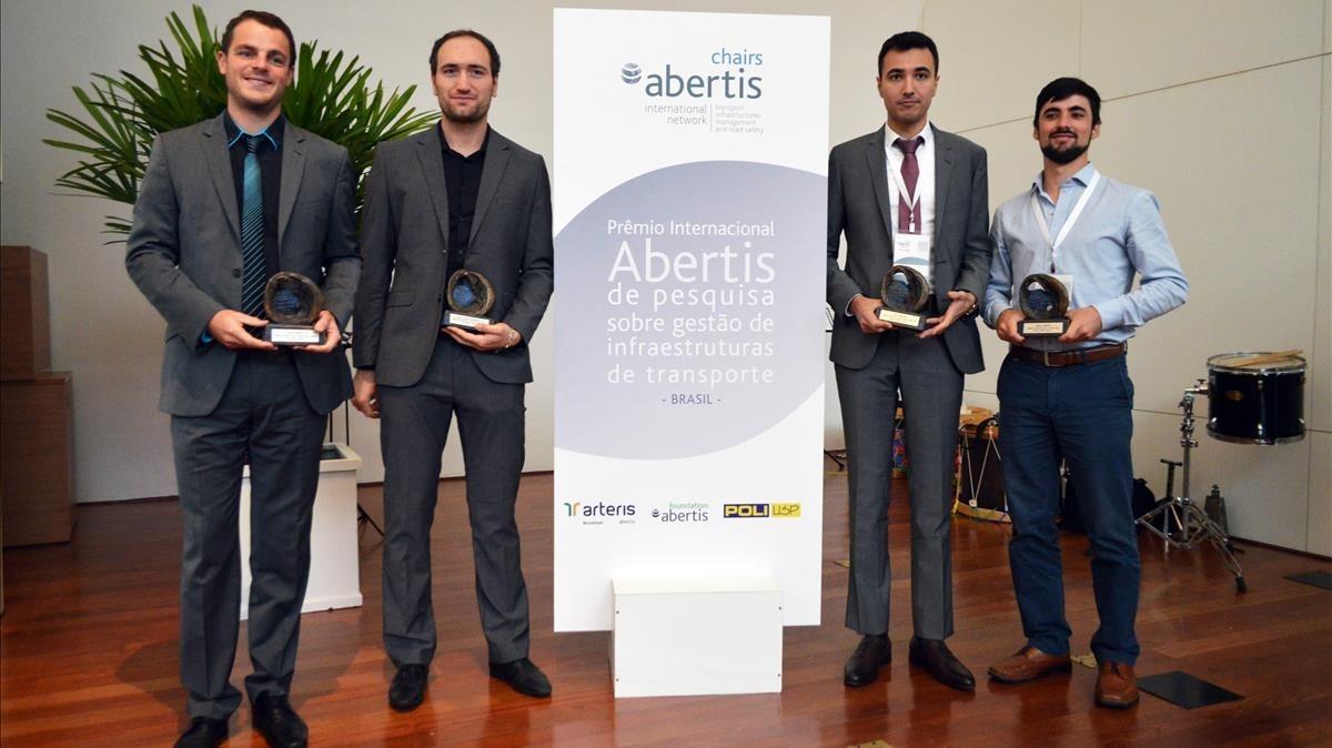 De izquierda a derecha,Gabriel Michau,Pierre Laharotte,Hedi Hamdane y Markus Niehaus.