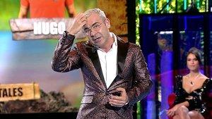 Jorge Javier Vázquez presentado 'Supervivientes 2020' sin maquillaje.
