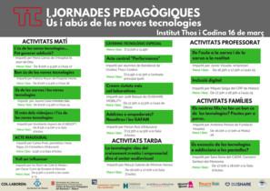 Jornada Pedagógica sobre uso y abuso de las nuevas tecnologías en Mataró.