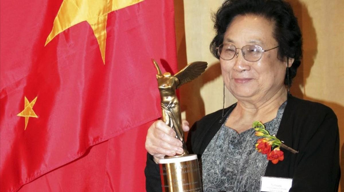 Tu Youyou, farmacóloga china que logró el Nobel en el 2011.