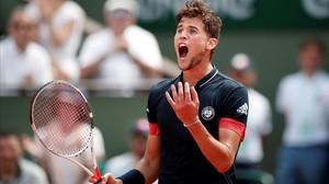 Thiem tomba Cecchinato i espera rival en la final de Roland Garros