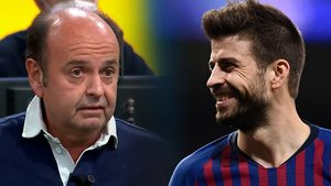 """Piqué sale en defensa de Casillas y llama """"Gargamel"""" al periodista Juanma Rodríguez"""