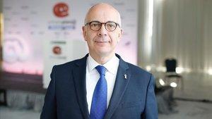 El director general de Mitjans de Comunicacióde la Generalitat,Ignasi Genovès, el pasado 15 de abril