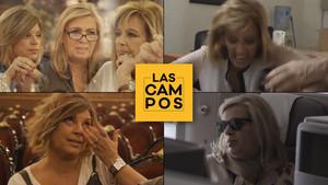 Enfados, una caída y el relevo de la porra de Terelu en el regreso de 'Las Campos'
