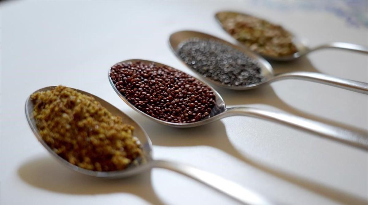 Lino, quinoa, chía y trigo sarraceno son algunos de los alimentos que han invadido nuestras despensas.