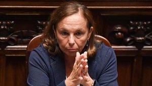 La ministra del Interior italiana,Luciana Lamorgese.