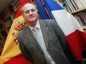 Manuel García Castellón, cuando era juez de enlace con Francia.