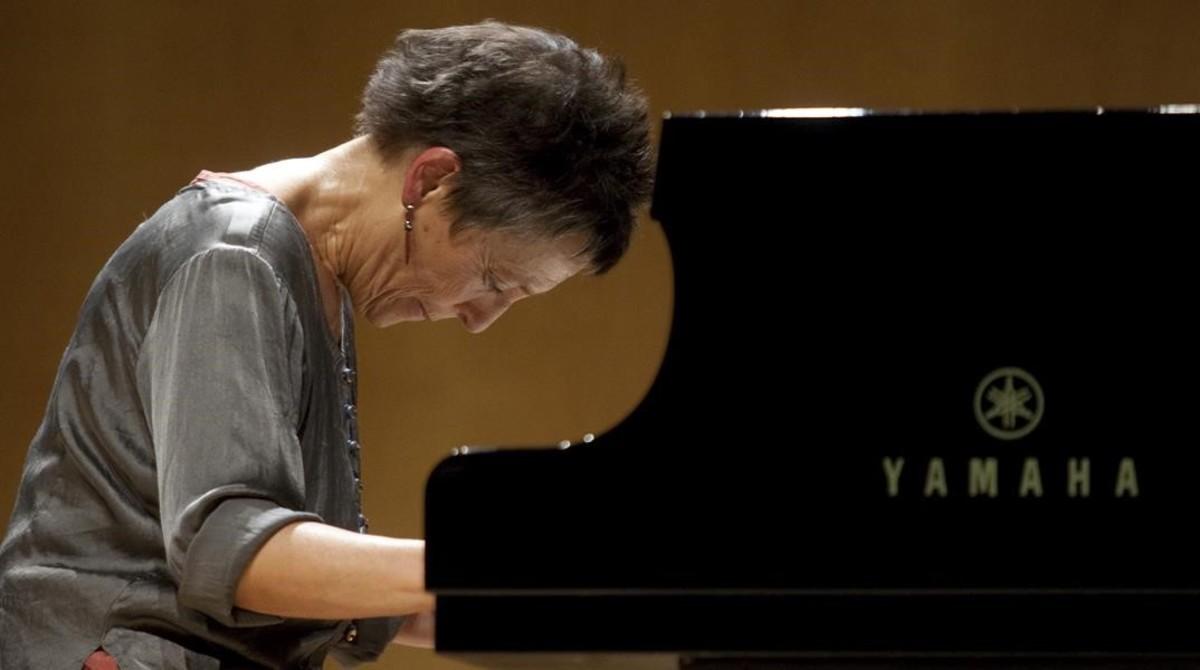 Maria Joao Pires, en una actuación anterior en el Auditori.