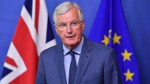El máximo responsable de la UE en la negociación sobre el brexit, Michel Barnier.
