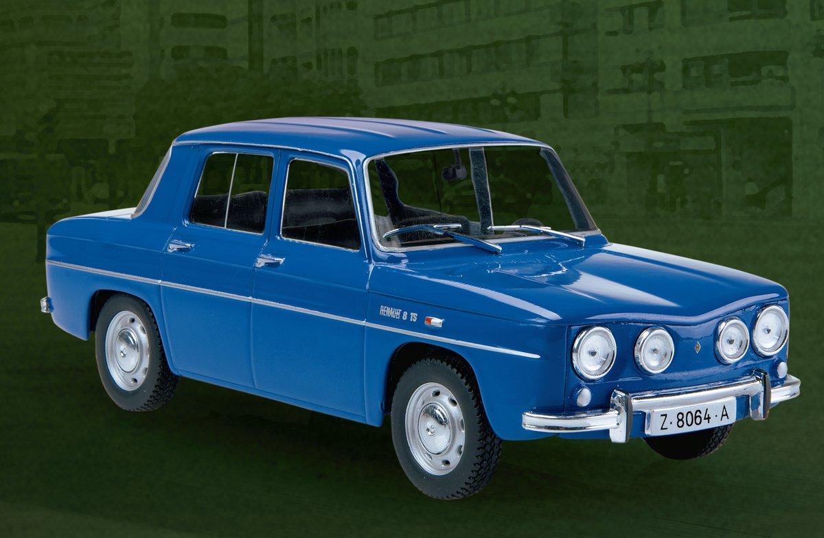 La miniatura del Renault 8TS, uno de los modelos de la colección Coches Inolvidables