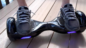 Un modelo de Hoverboard.