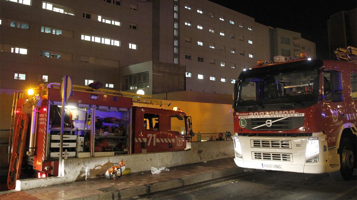 Detenida una mujer por incendiar un hospital de Tenerife