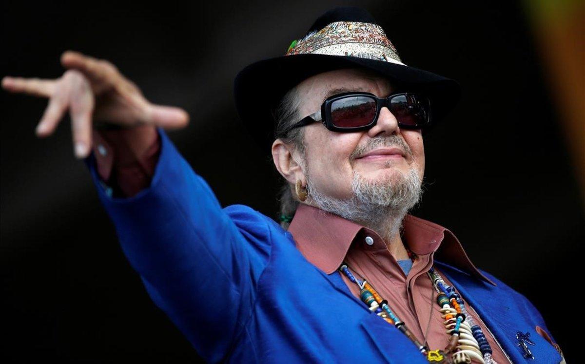 El músico Dr John, en una actuación en Nueva Orleans, en el año 2013.
