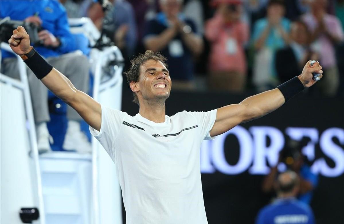 Nadal tumba a Dimitrov en un partido épico y alcanza una final de leyenda