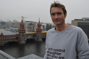 Norman Ohler, en Berlín.
