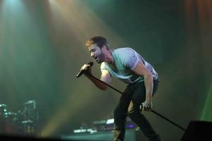 Pablo Alborán, en un concierto en Barcelona el pasado 23 de octubre.
