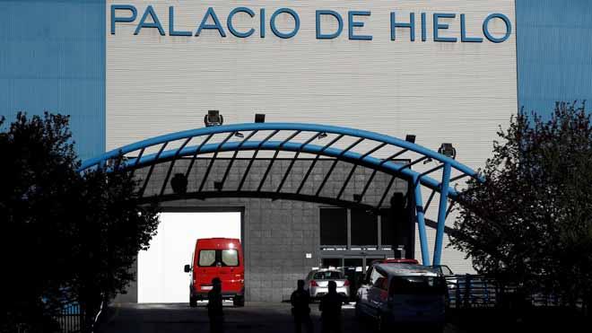 El Palacio de Hielo de Madrid será una morgue por la saturación de crematorios.