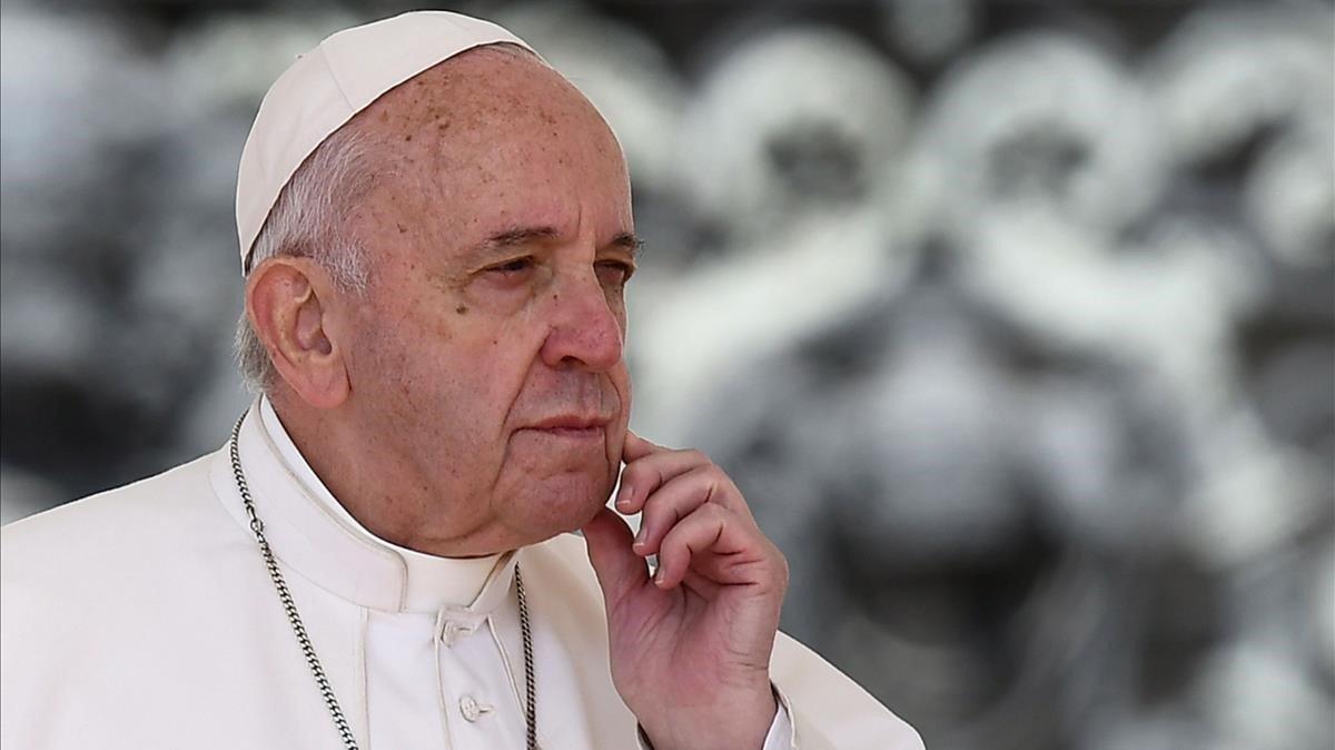 El papa Francisco, el pasado 8 de mayo.