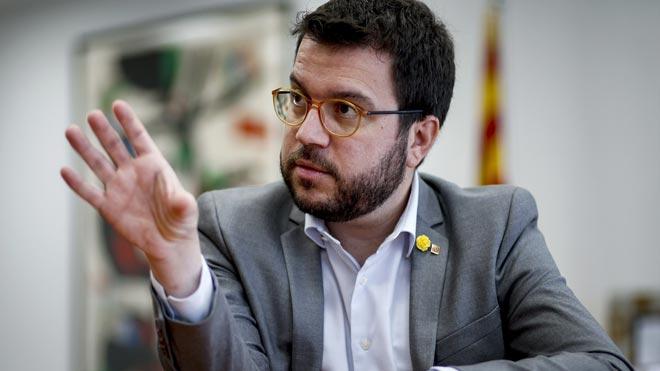 Pere Aragonès ve difícil la continuidad de la legislatura sin nuevos presupuestos.