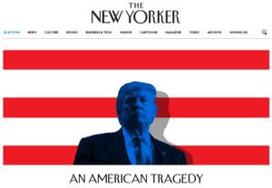Portada del The New Yorker tras la victoria de Donald Trump: Una tragedia americana.
