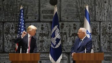 Trump se muestra optimista ante la paz en Oriente Próximo