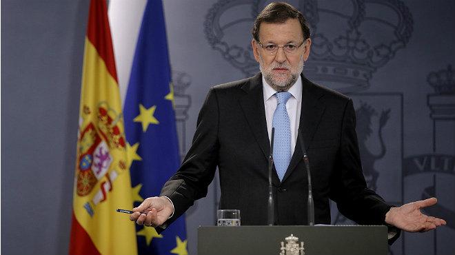 El presidente del Gobierno, Mariano Rajoy, se ha dirigido a los españoles tras el Consejo de Ministros extraordinario.
