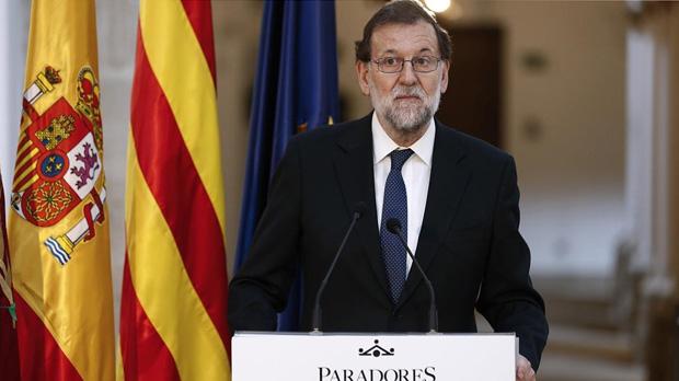 El presidente del Gobierno, Mariano Rajoy,el pasado jueves en Lleida.