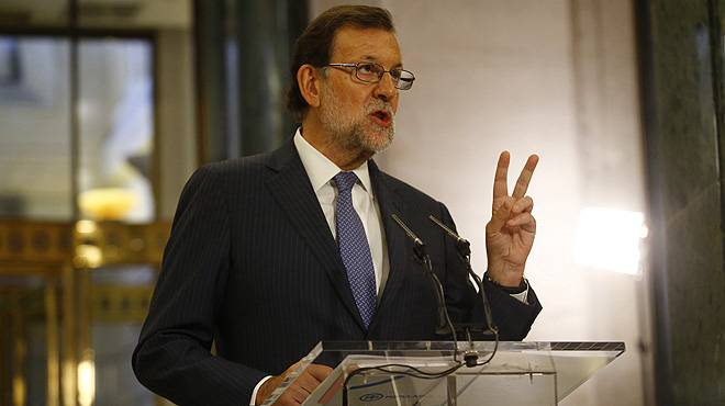 Rajoy, tras su reunión con Albert Rivera: Hoy hemos dado un primer paso.