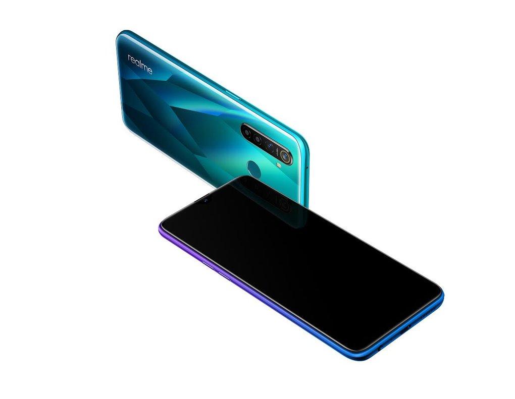 Smartphonemodelo 5 Pro, de Realme.