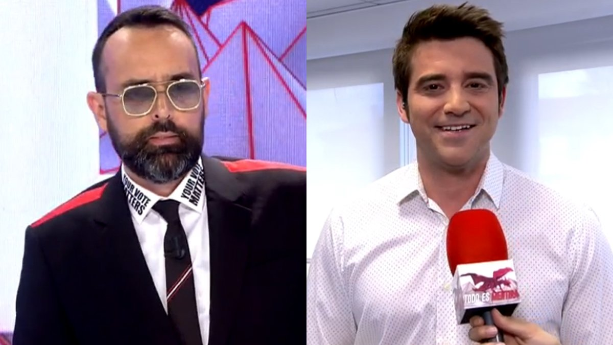 Risto Mejide y Javier Negre.