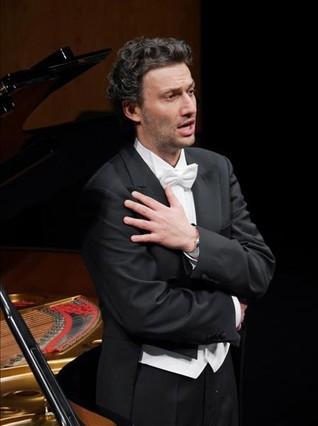 Jonas Kaufmann, durante la interpretación de 'Winterreise', de Franz Schubert, en el Liceu, el 28 de marzo del 2014.