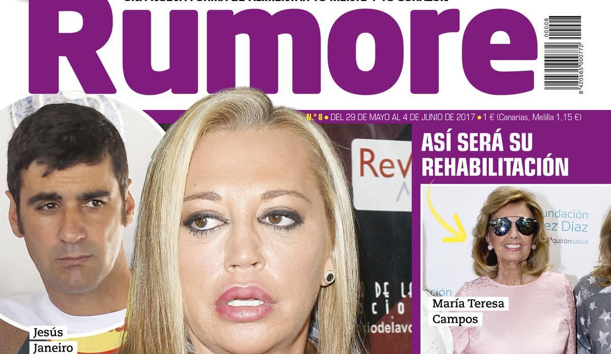 Belén Esteban estalla ante el anuncio de la reboda de Jesulín y María José Campanario, en 'Rumore'.